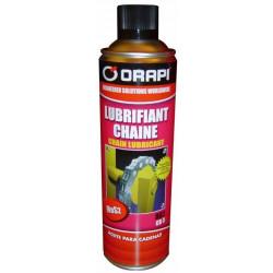 Aérosol lubrifiant chaînes...