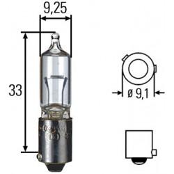 Ampoule iode Hella 24 V 21...
