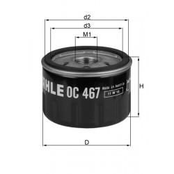 Filtre à huile Mahle OC467