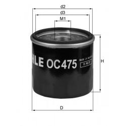 Filtre à huile Mahle OC475