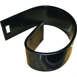 Agrafe à visser MS 45 galvanisée avec vis acier LE M
