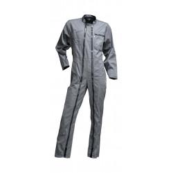 Combinaison double zip gris...