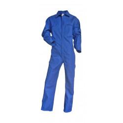 Combinaison simple zip bleu...