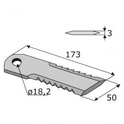 Couteau BISO Trou 18, 2...