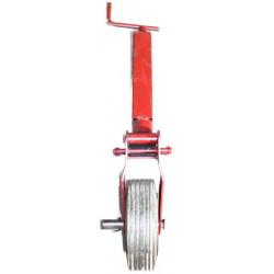 Béquille roue caoutchouc