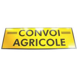 Panneau « Convoi agricole »...