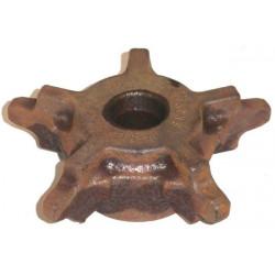 Pignon acier brut