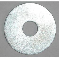 Rondelle plate large brut
