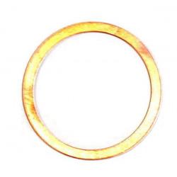 Rondelle cuivre plate