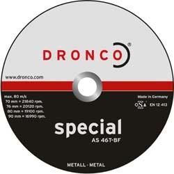 Mini disque à découper 76 x 1,2 x 10 pour meuleuse droite